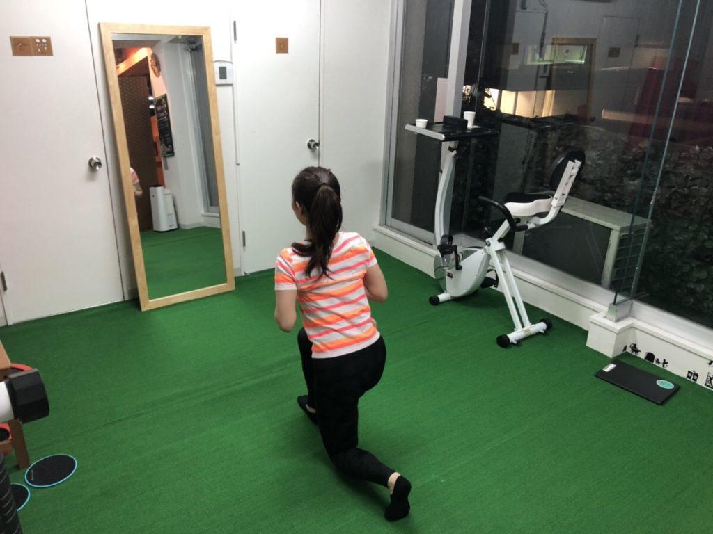 小島さんトレーニング