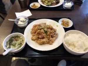パーソナルトレーナーの阿久津さんが食べた油淋鶏