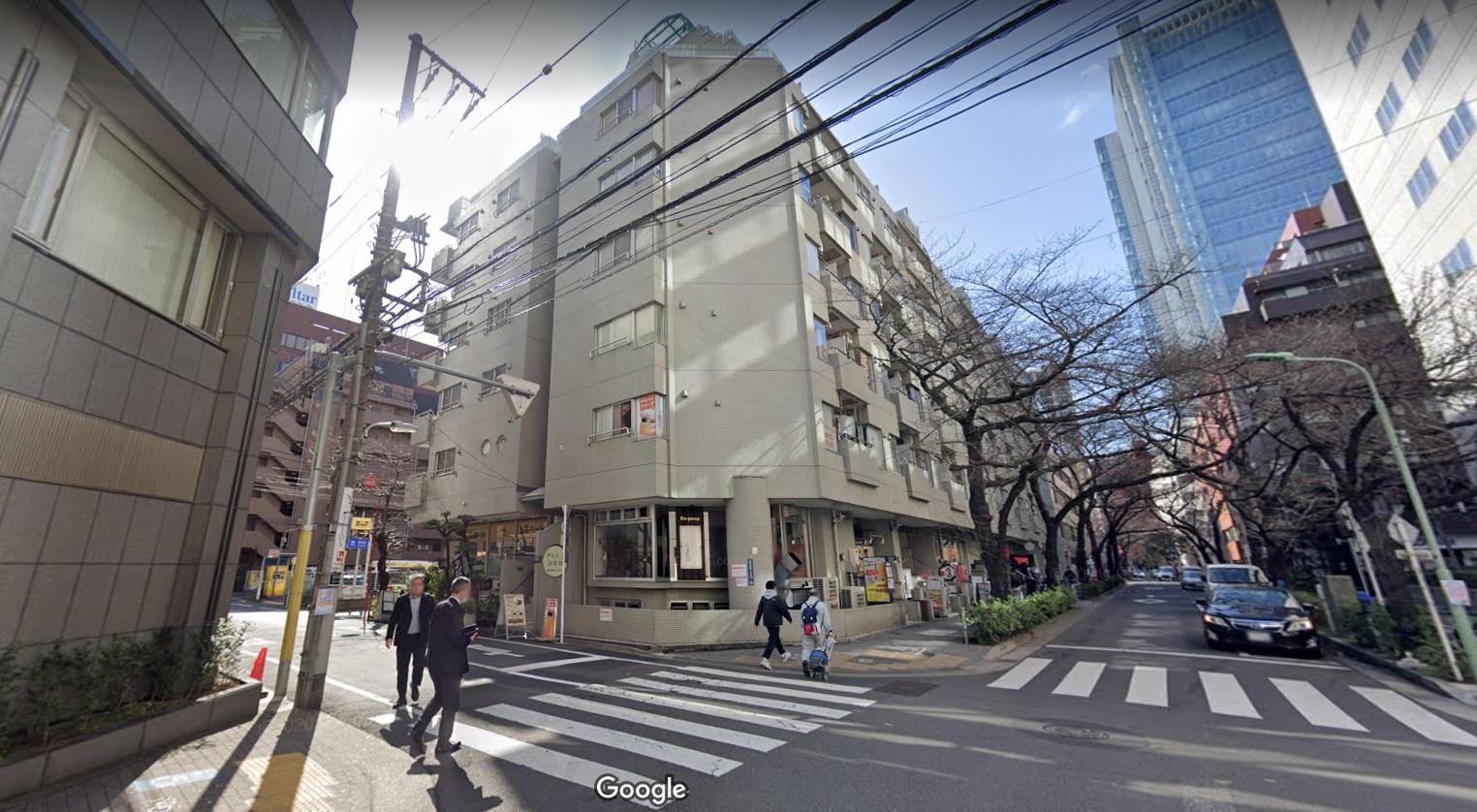 五反田店への道順